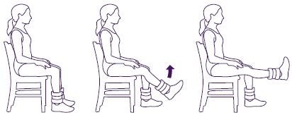 ejercicios rodilla artrosis