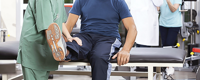 Cirugía de rodilla.